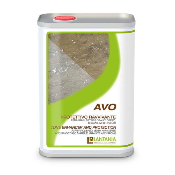 Avo - Kleurverdiepende bescherming voor ongepolijst, gebouchardeerd, gezoet marmer, graniet en steen